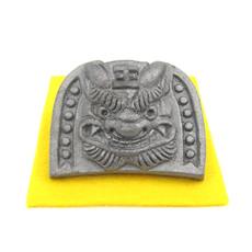 4㎝ミニ鬼瓦(4㎝ミニ鬼瓦(王))