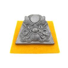 4㎝ミニ鬼瓦(4㎝ミニ鬼瓦(太陽))