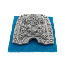 4㎝ミニ鬼瓦(4cmミニ鬼瓦(頭巾))
