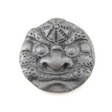 3.3㎝ミニ鬼瓦ゴルフボールマーカー(頭巾)
