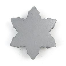 瓦素材フォトスタンド(雪の結晶)