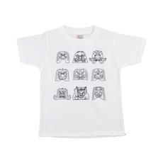 Tシャツ(鬼面鬼瓦Tシャツ(白))