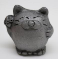 人形シリーズ(招き猫)
