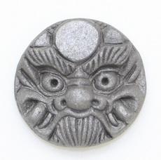 3.3㎝ミニ鬼瓦ゴルフボールマーカー(太陽)