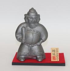 鍾馗(黒台・毛氈)(鍾馗(背丈17㎝))